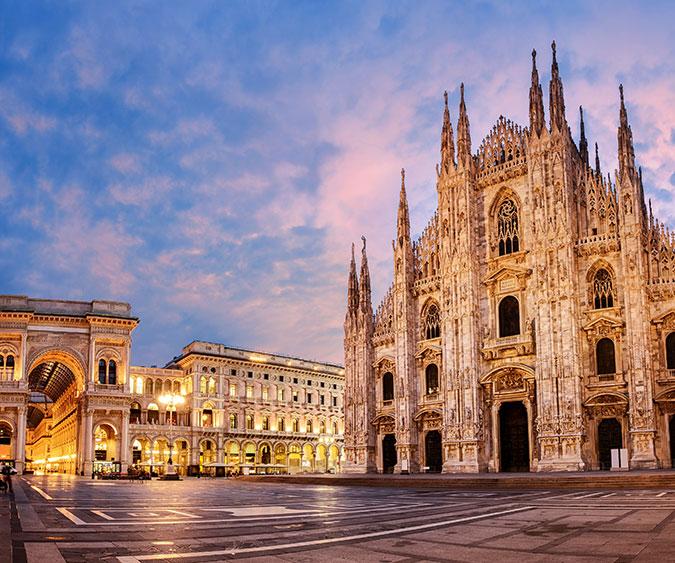 Piazza del Duomo Milano, Lombardia - Italia