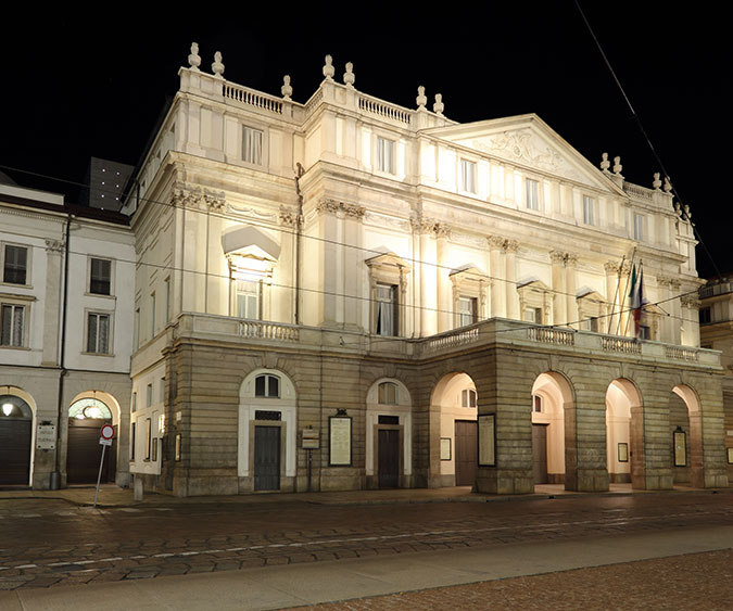Teatro La Scala Milano, Lombardia - Italia