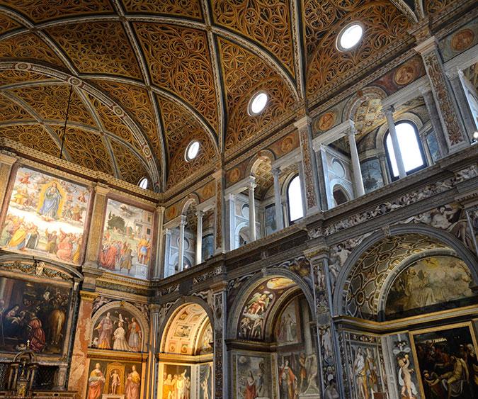 Monastero San Maurizio Milano, Lombardia - Italia