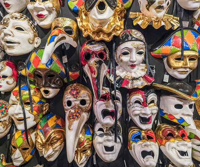 Laboratorio di maschere veneziane, Venezia - Italia