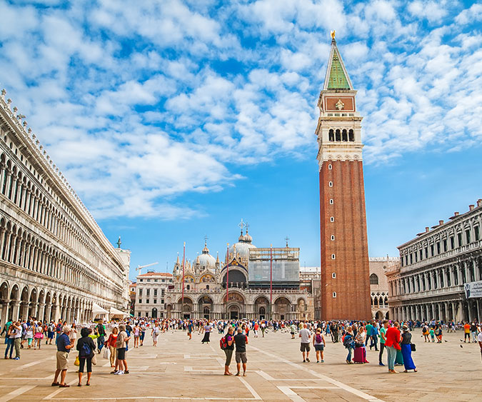 Venezia Piazza San Marco, Italia - Europa
