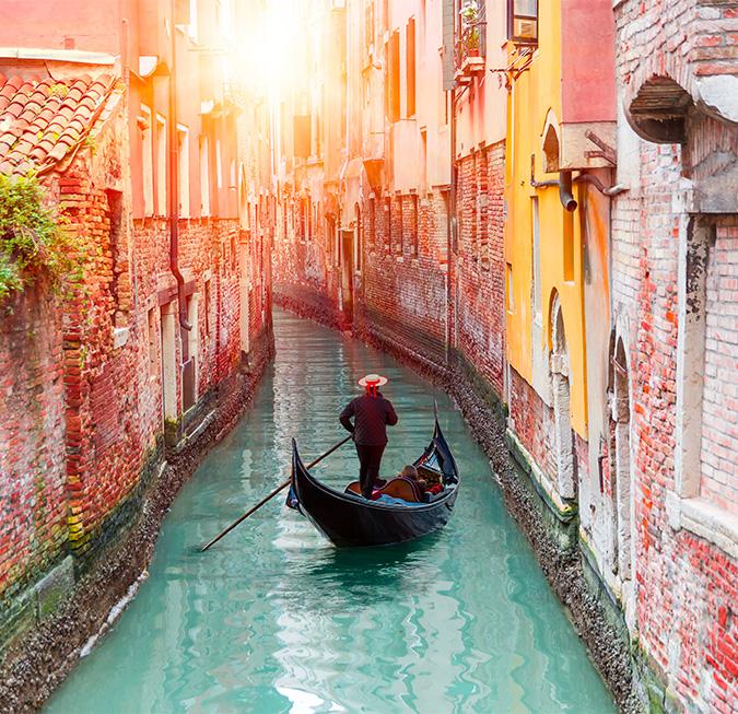 Giro in gondola, Venezia - Italia