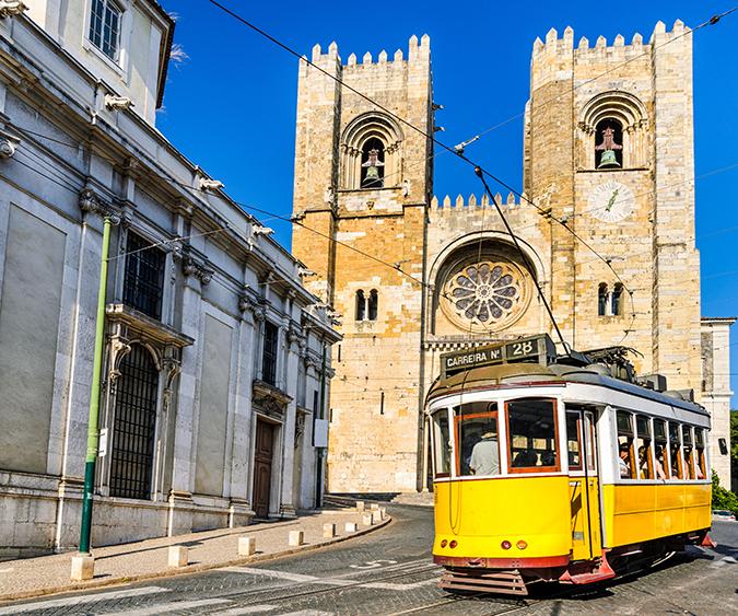 Tram, Lisbona - Portogallo