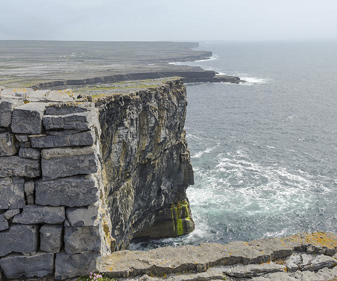 Castello di dun aengus, Inishmore - Irlanda