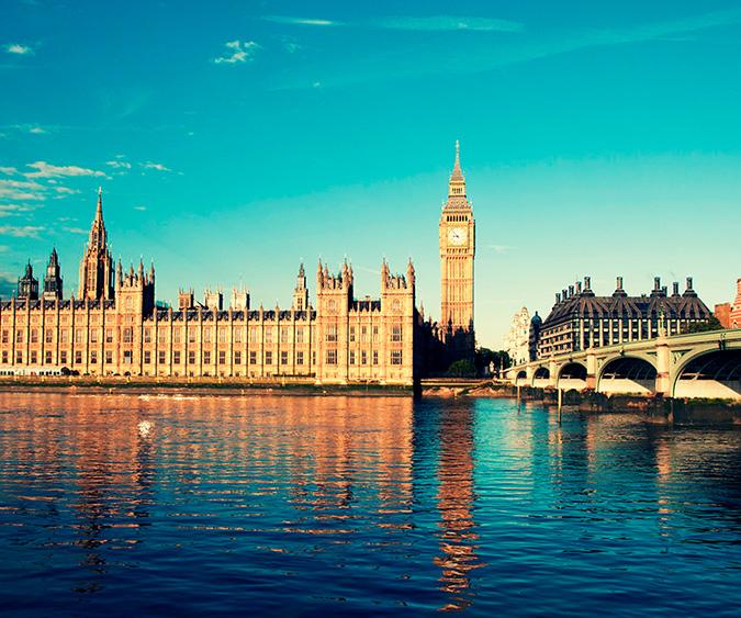 Londra velocità risalente oltre 40