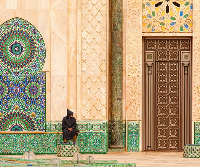 La Moschea di Hassan, Casablanca - Marocco