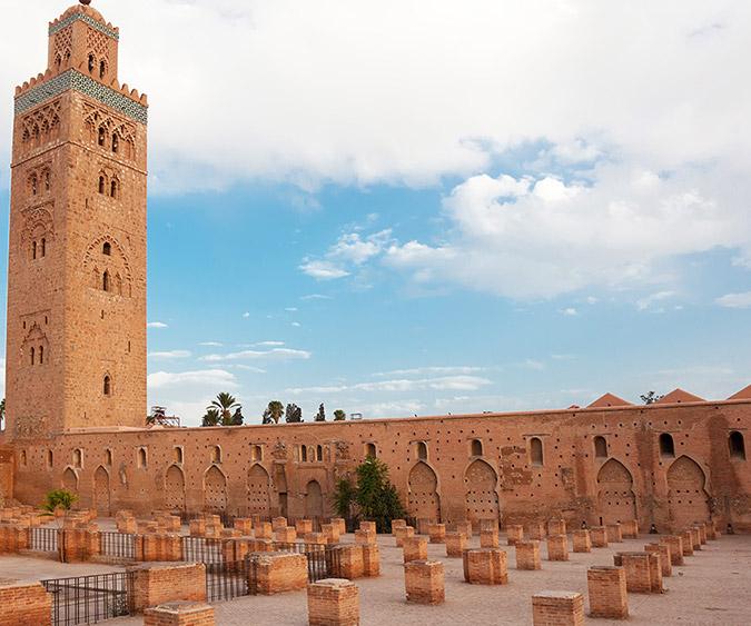 La Moschea della Koutoubia, Marrakech - Marocco