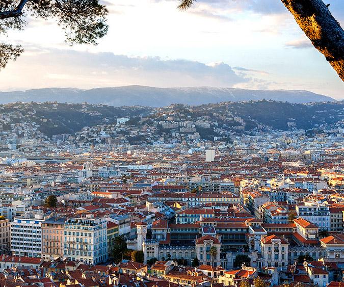 Panoramica, Nizza - Francia
