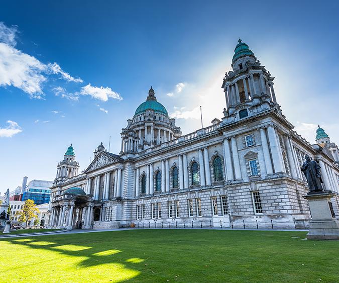 City Hall di Belfast, Belfast - Irlanda