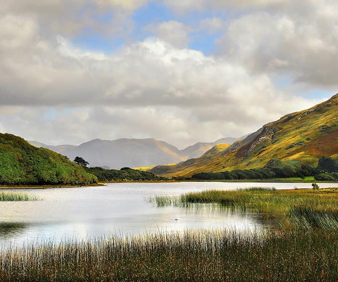 Paesaggio di Connemara, Connemara - Irlanda