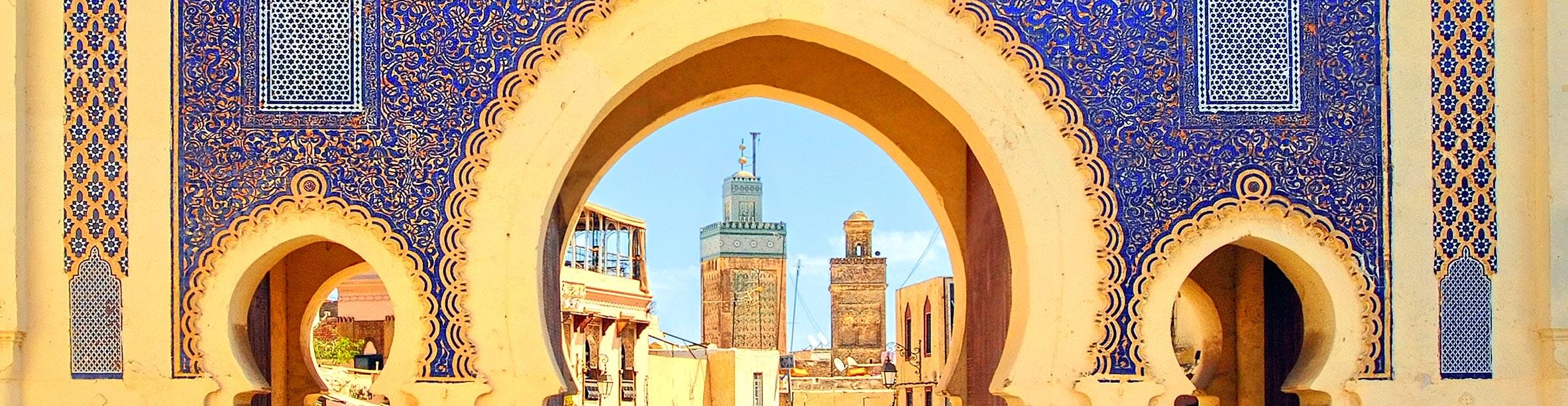 Porta blu, Fes - Marocco