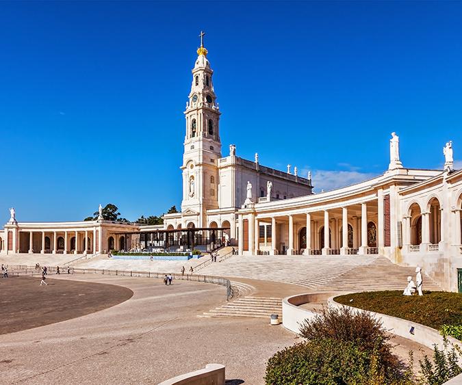 Veduta del Santuario di Fatima - Portogallo