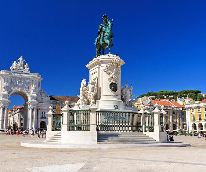 Piazza del Commercio, Lisbona - Portogallo