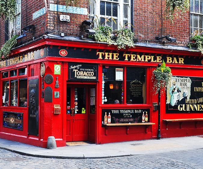 Temple bar, Dublino - Irlanda