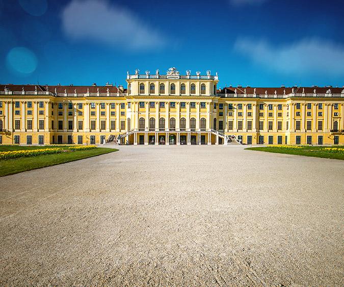 Il Castello di Schonbrunn, Vienna - Austria