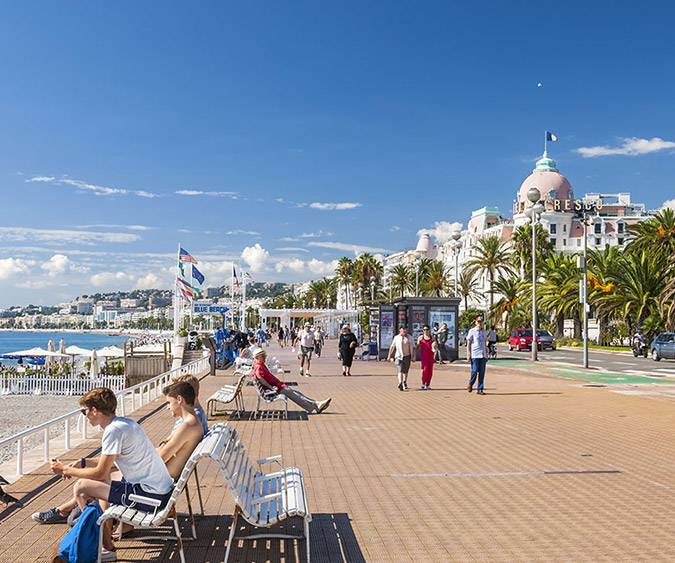 Promenade des Anglais, Nizza - Francia