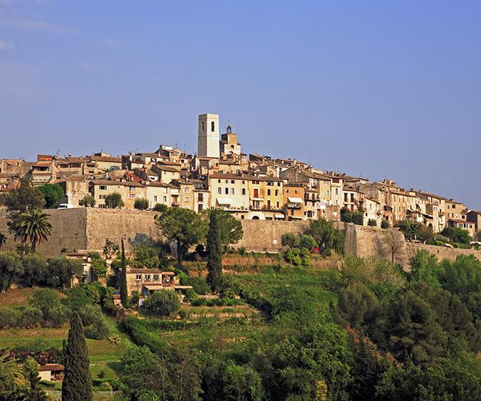 Scorcio, Saint Paul de Vence - Francia