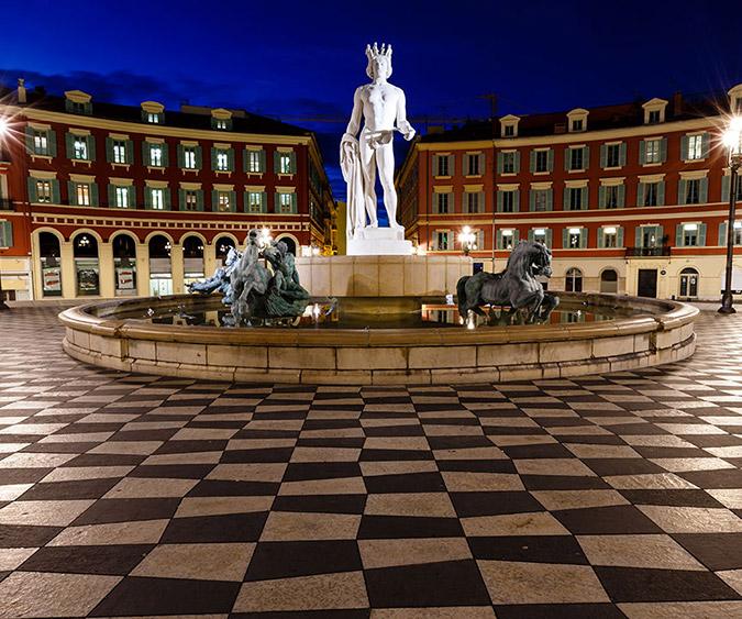 Place Massena, Nizza - Francia