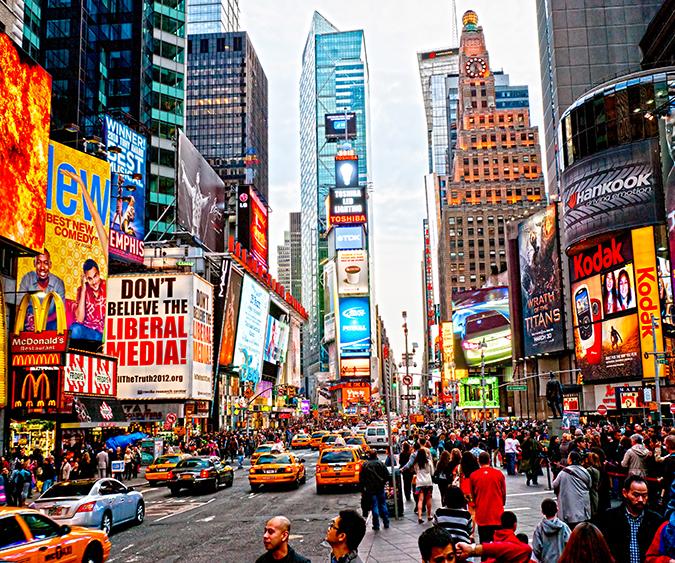 Times Square, New York - Stati Uniti