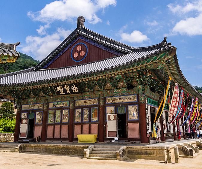 Padiglione delle tripitaka coreane, Tempio di Haeinsa - Corea del sud