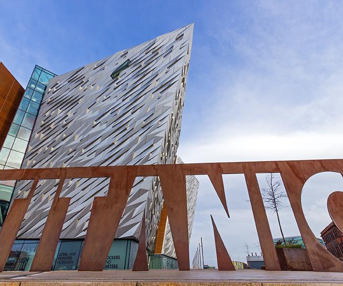 Titanic Quarter di Belfast, Belfast - Irlanda