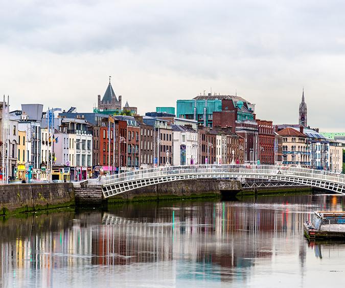 Scorcio di Dublino, Dublino - Irlanda