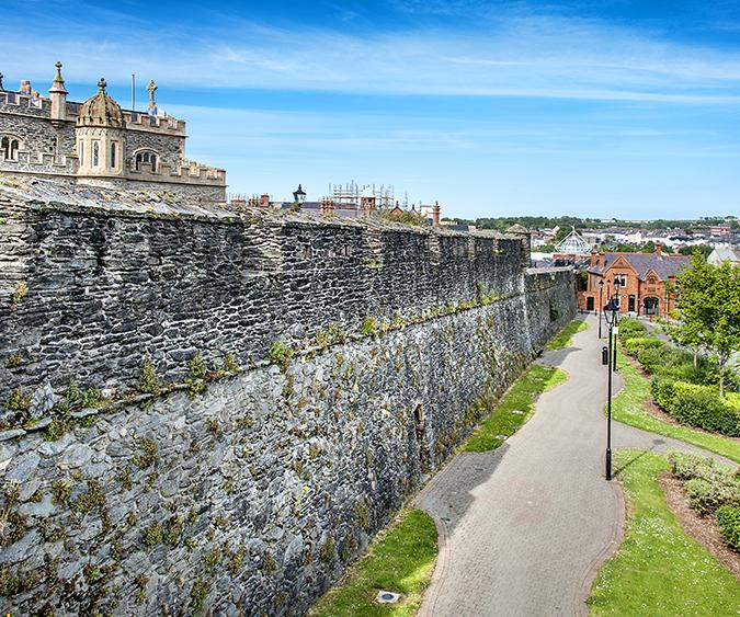 Mura di Derry, Derry - Irlanda