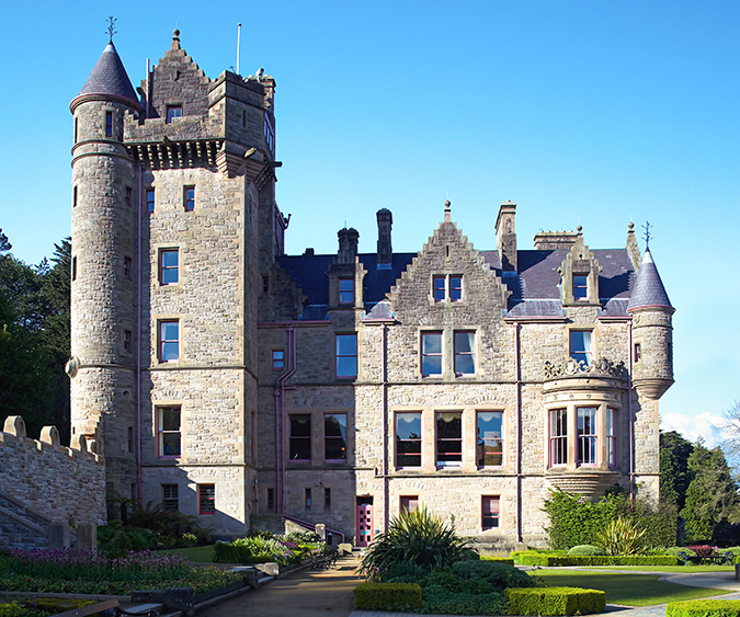 Castello di Belfast, Belfast - Irlanda