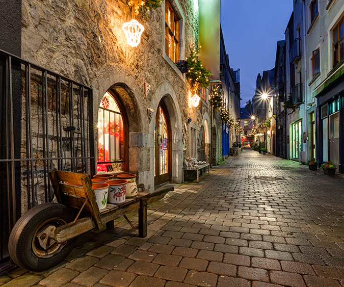 Uno scorcio di Galway, Galway - Irlanda