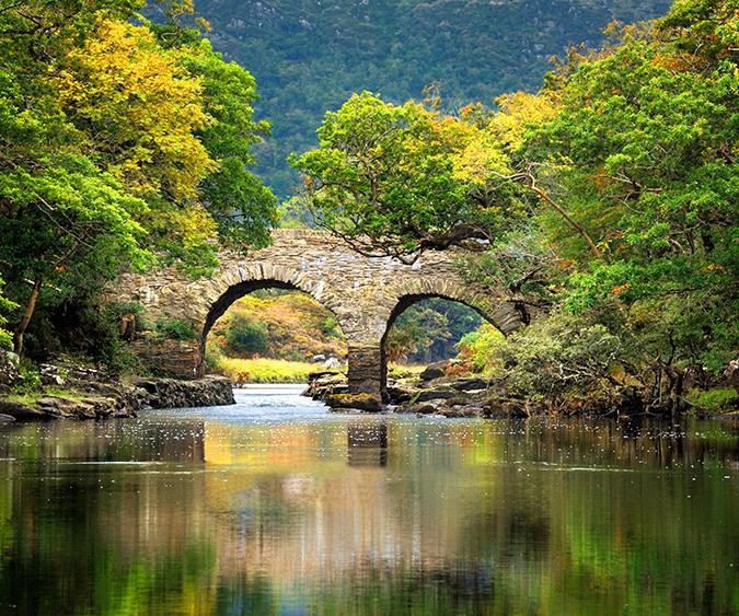 Scorcio del Parco Nazionale di Killarney, Killarney - Irlanda