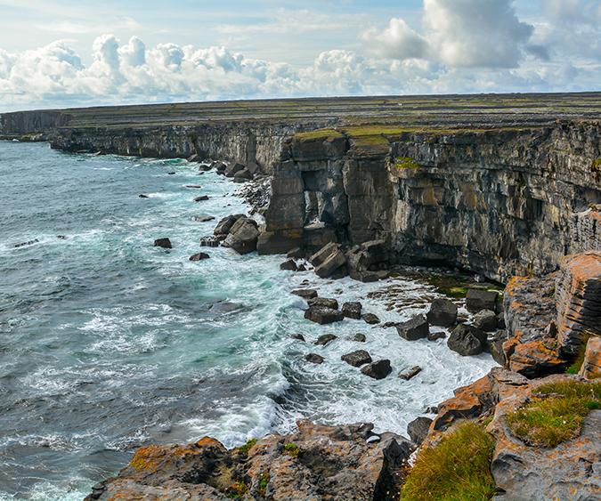 Scogliere delle Isole Aran, Galway - Irlanda