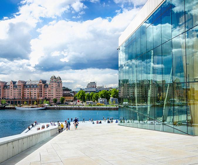 Il Teatro dell'Opera di Oslo, Oslo - Norvegia