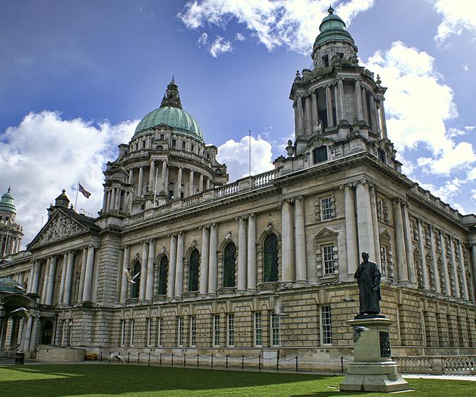 Il municipio di Belfast, Belfast - Irlanda