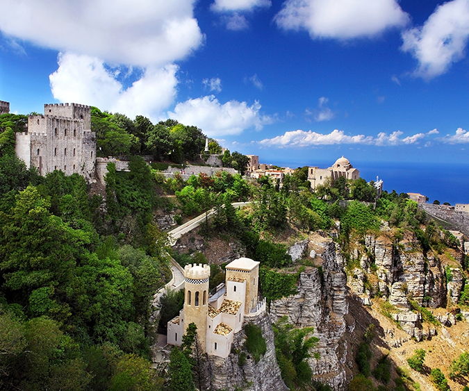 Panorama, Erice - Italia