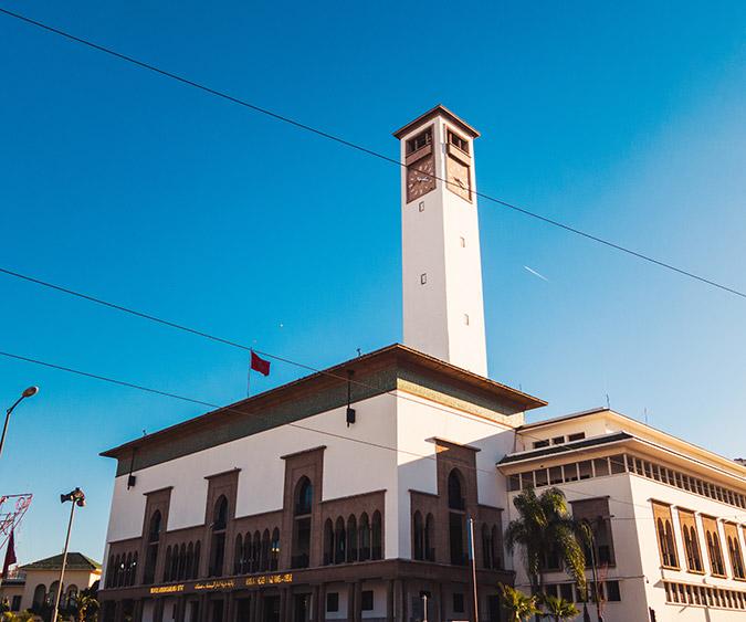 Il centro di Casablanca - Marocco