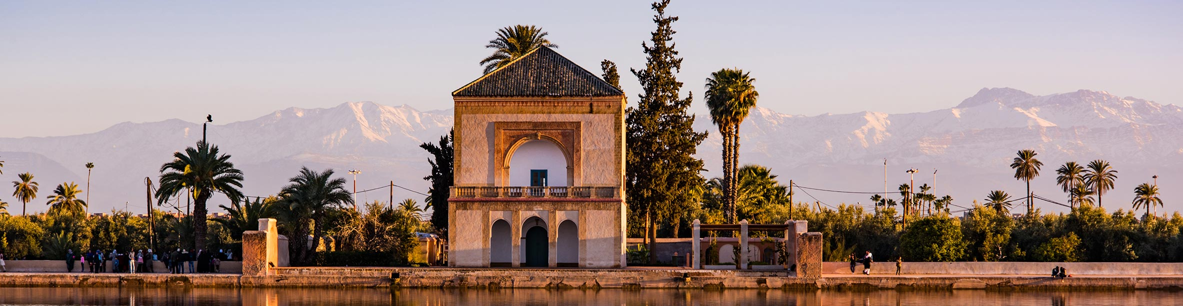 Giardini Menara, Marrakech - Marocco