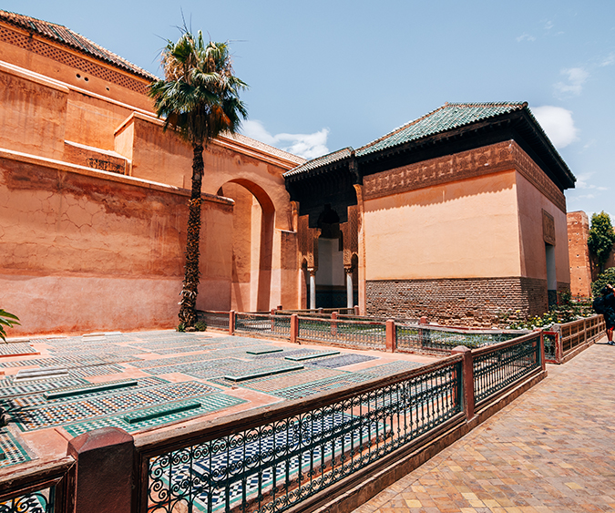 Tombe saadiane, Marrakech - Marocco