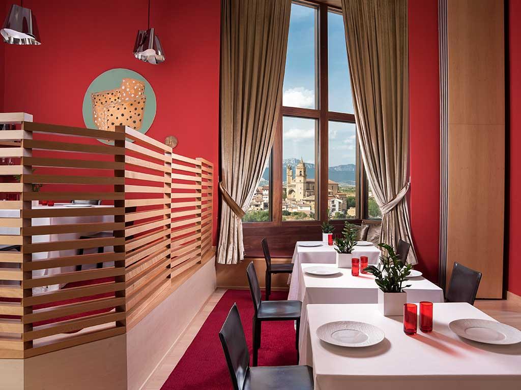 Sala da pranzo Marqués de Risca