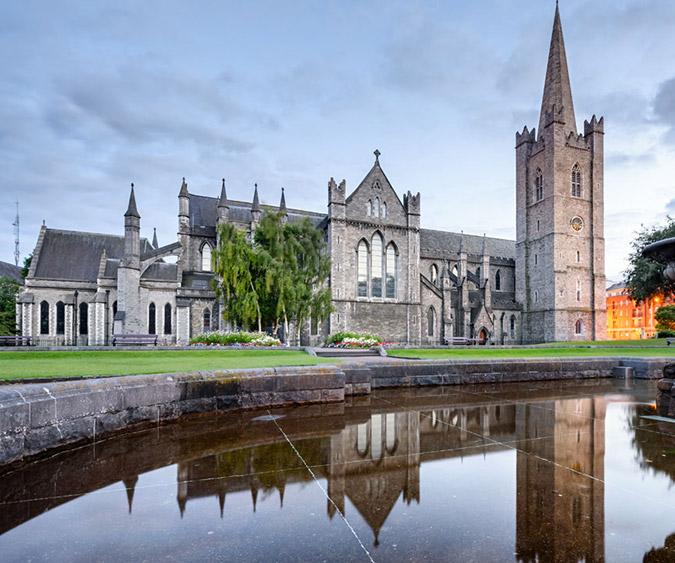 Vista della Cattedrale, Dublino - Irlanda