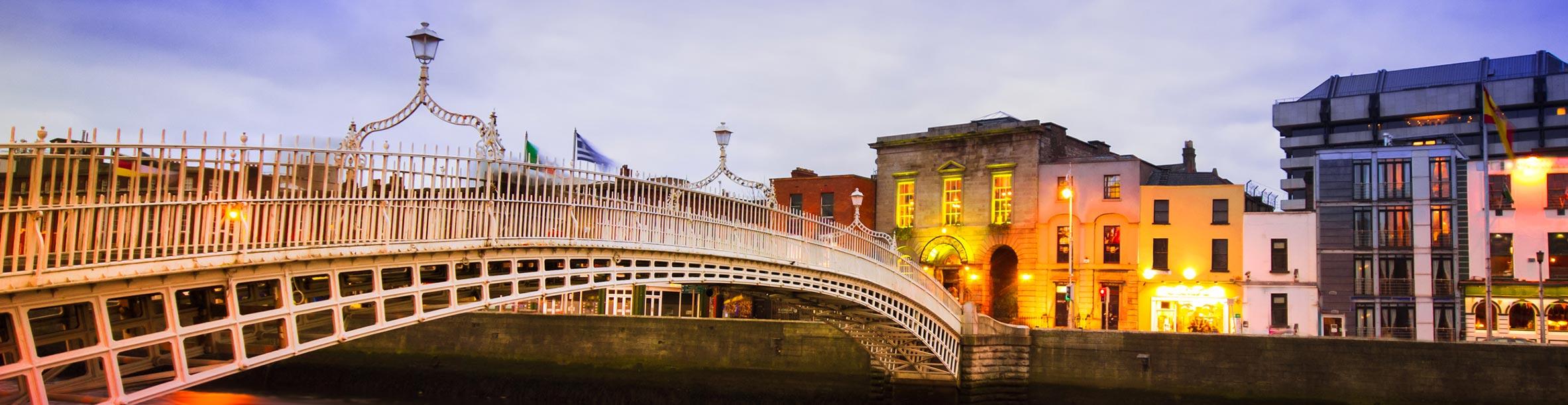 Ha' Penny Bridge, Dublino - Irlanda