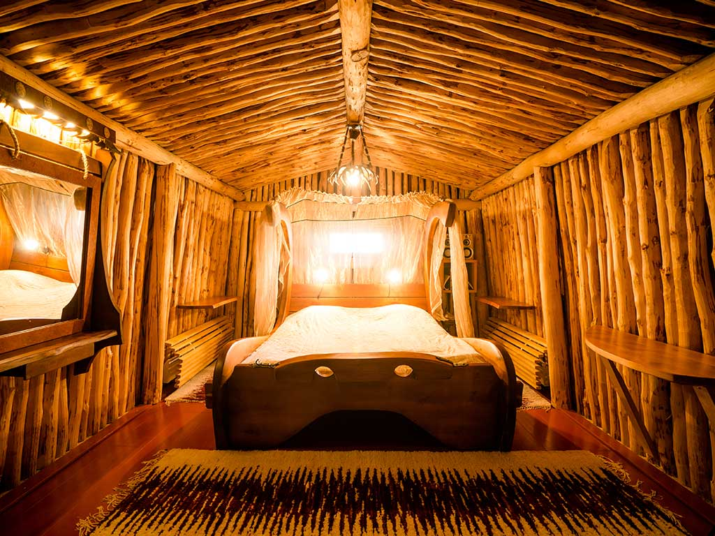 Kakslauttanen Arctic Resort - camera da letto