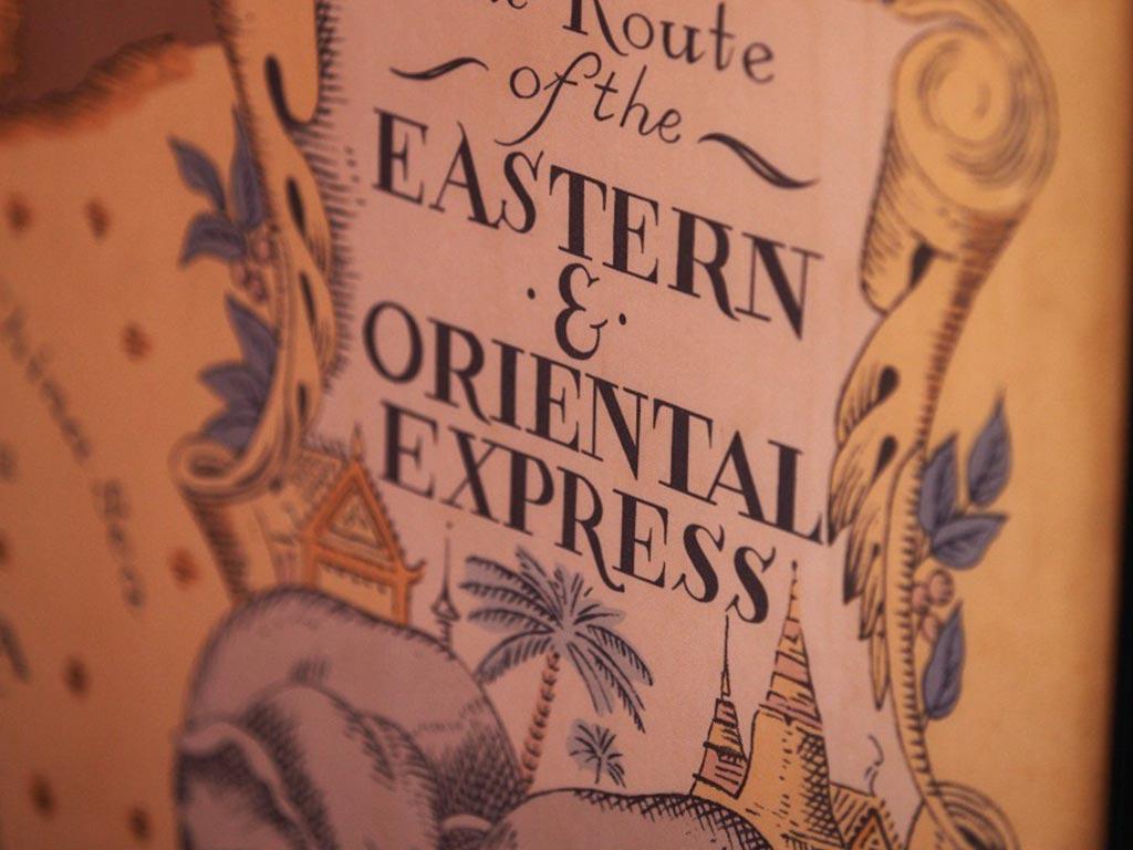 Oriental Express - iscrizione