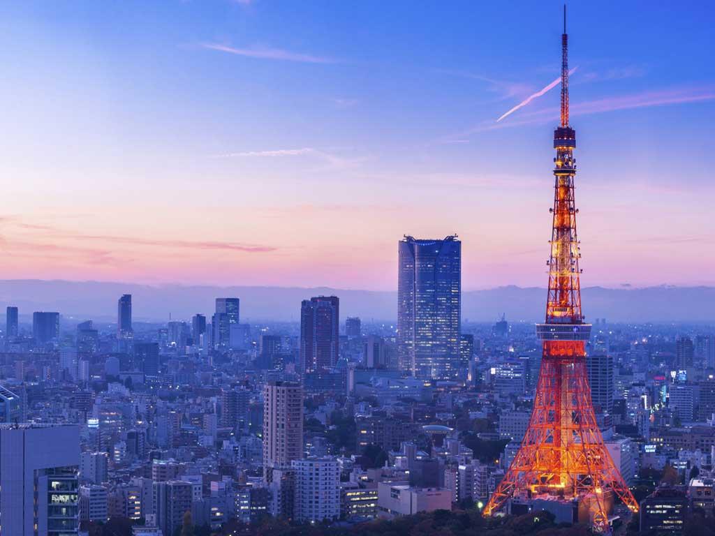 Tokyo - veduta aerea