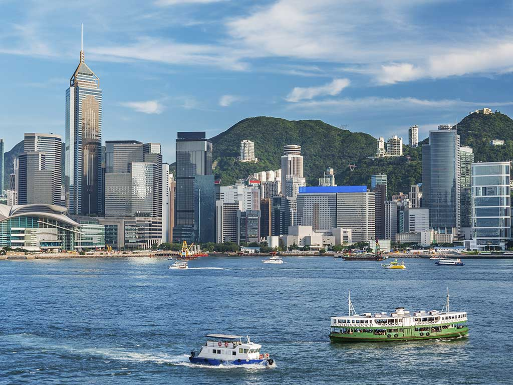 Hong Kong - veduta porto