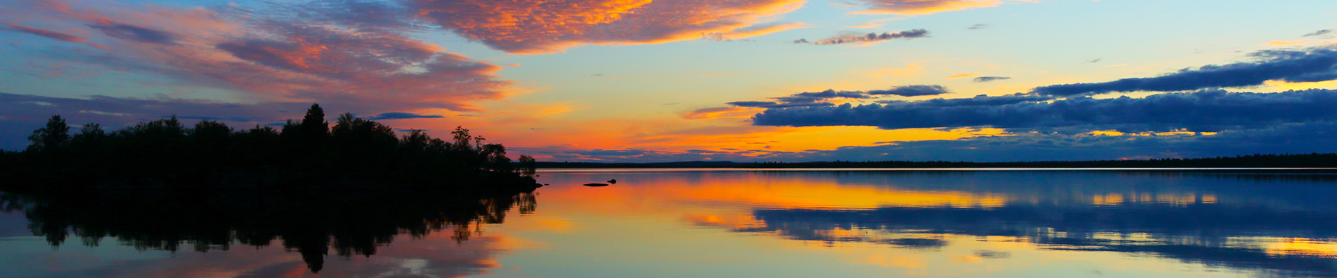 Finlandia: il Sole di mezzanotte