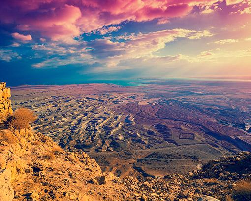 Masada, Judaean Desert - Israele