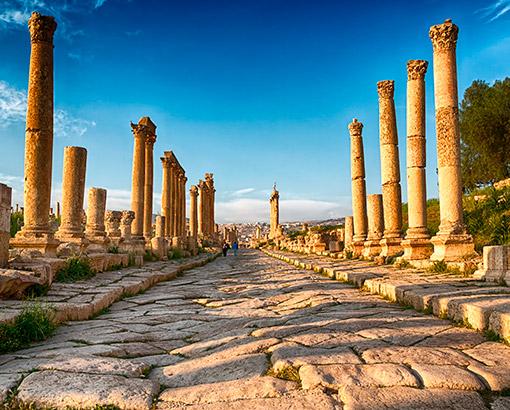 Jerash Sito Archeologico, Giordania - Asia