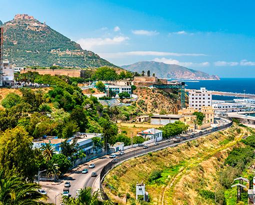 Panoramica Oran, Algeria - Africa