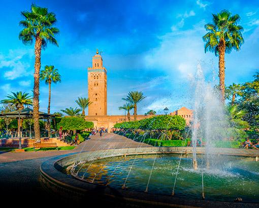 Panoramica Marrakesh, Marocco - Africa