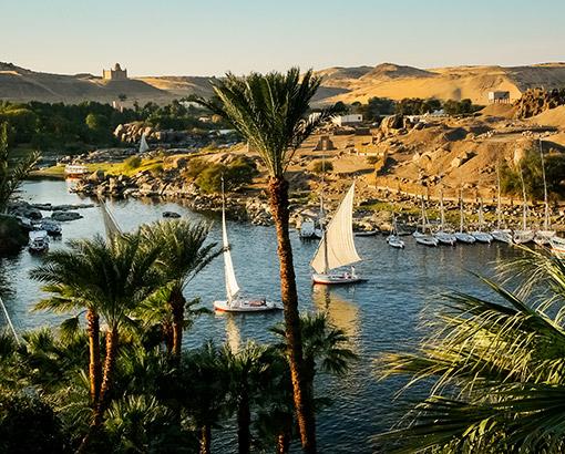 Panoramica Paesaggio, Egitto - Africa